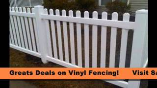 Brand New Vinyl Fence Fencing for Sale From Safer Wholesale(, 2013-04-10T19:40:28.000Z)