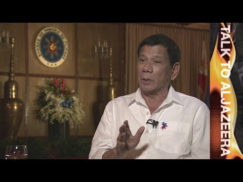 Rodrigo Duterte on US relations: 'No more military exercises' - Talk to Al Jazeera