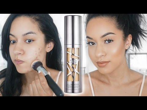 Urban Decay All Nighter Foundation First Impression