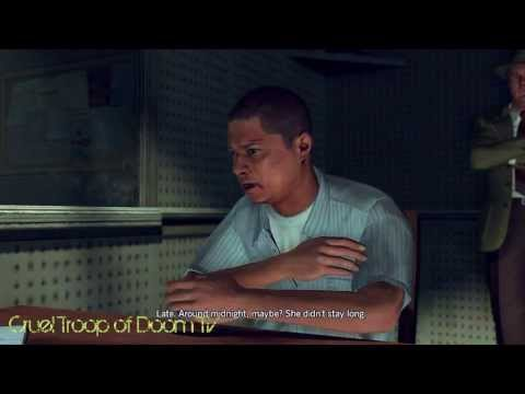 L.A. Noire: Perfect Interrogation - Angel Maldonado At Central Station [Silk Stocking Murder Case]