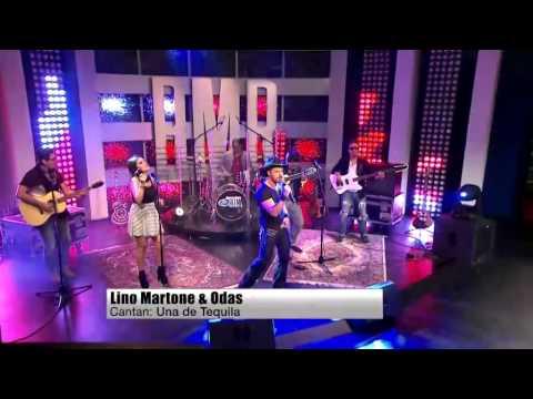 Lino Martone y Odas Presentacin Una de Tequila - Buscando Mi Ritmo