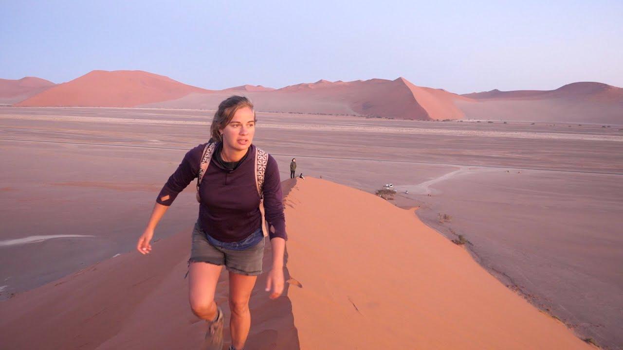 La Namibie en auto-stop / Hitchhiking across Namibia - LE MONDE SUR LE POUCE