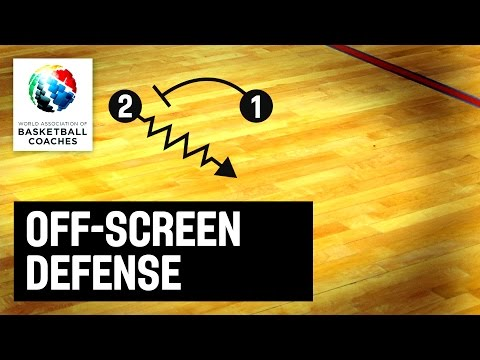 Off-screen defense - Aleksandar Dzikic - Basketball Fundamentals