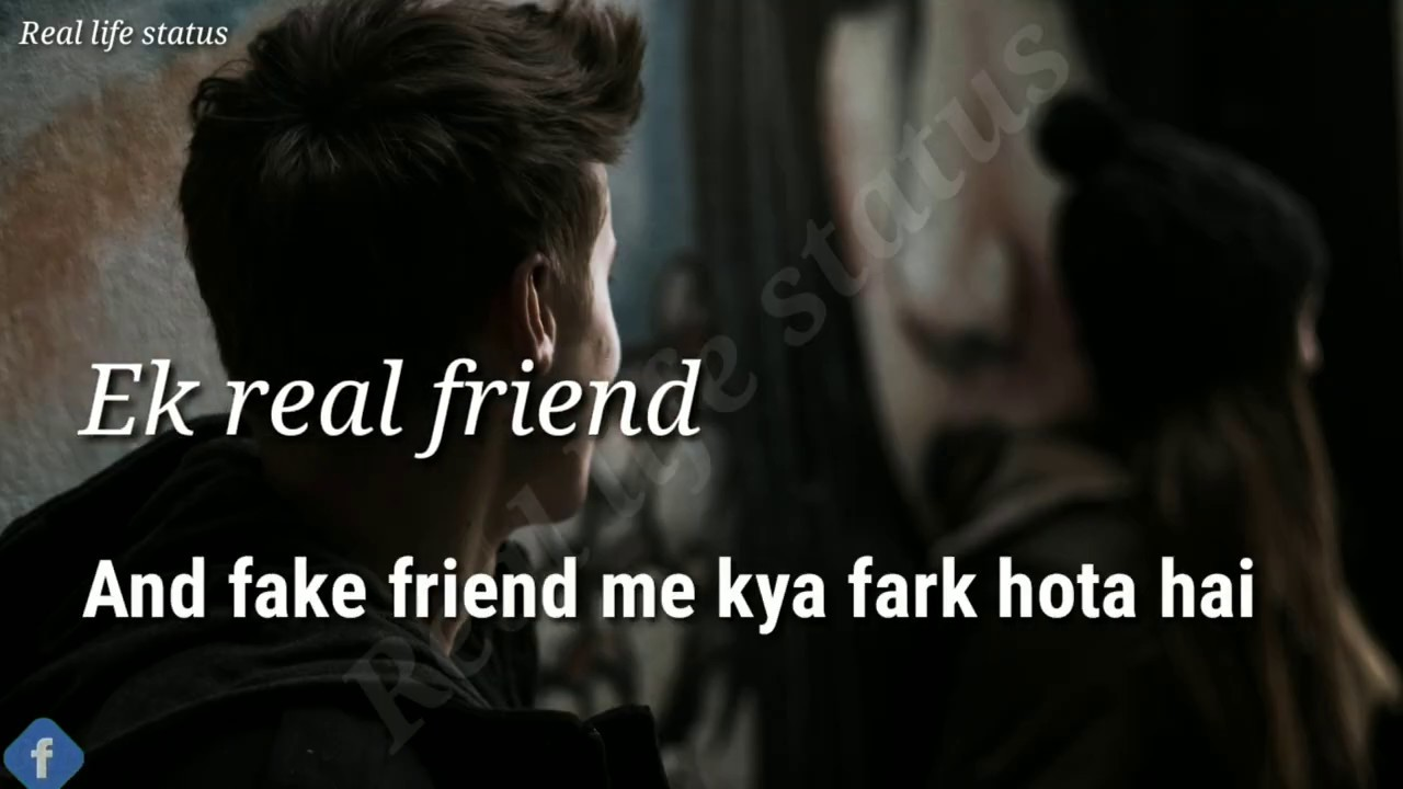 Friend VS fake friend WhatsApp status |friend status video|best friend status