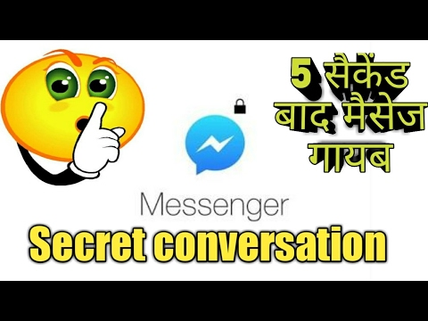 how to find secret conversations on facebook
