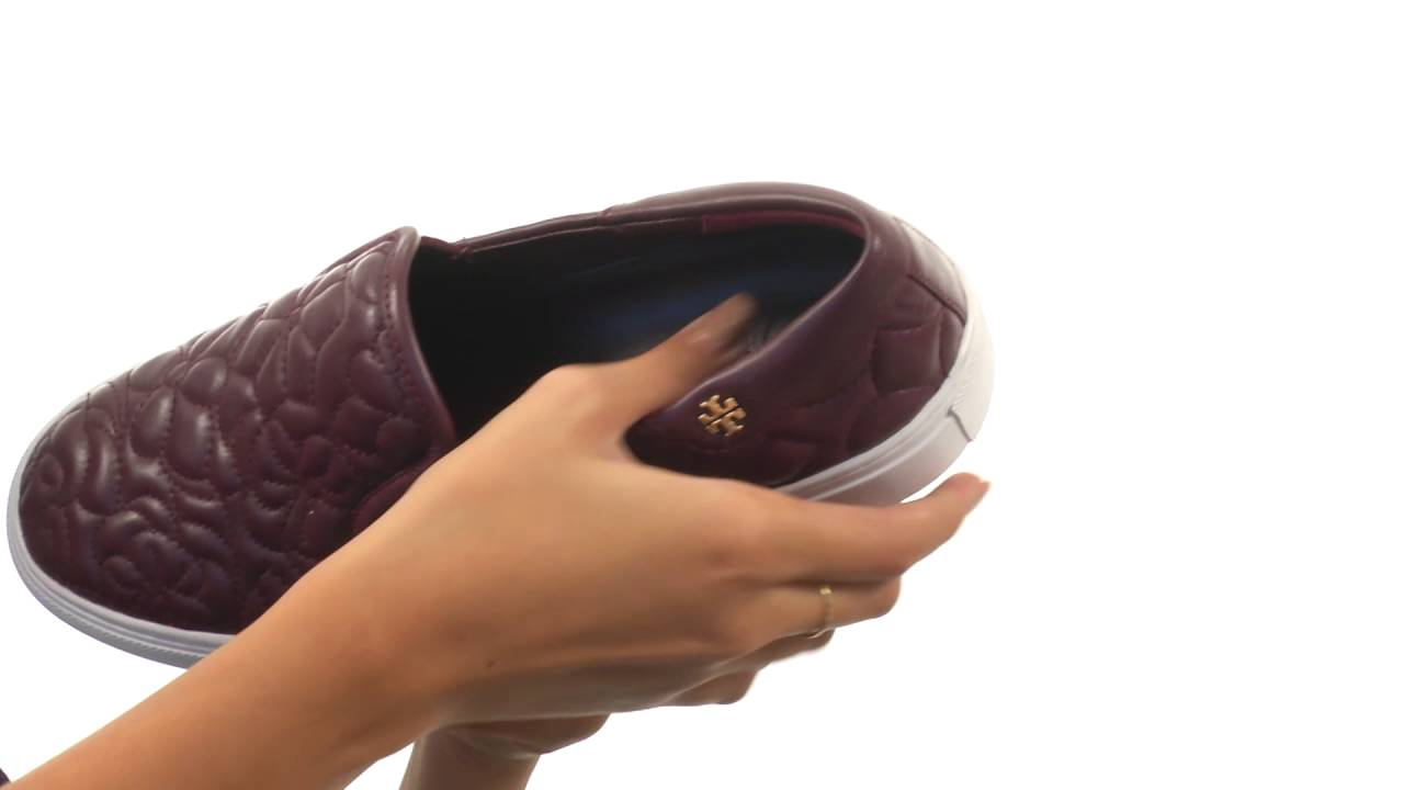 3a4913f76eaf Tory Burch Sela Slip-On Sneaker SKU 8814093 - YouTube