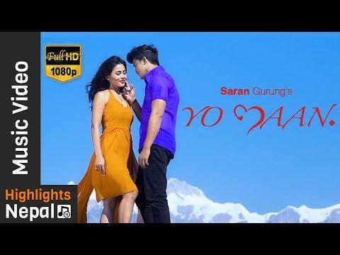 Yo Mann | Timro Lagi - Saran Gurung | Mala Limbu Hot Song Ft. Aakash Shrestha | New Nepali Pop Song