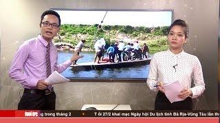 Hà Tĩnh: Bám dây theo đò qua sông Ngàn Phố
