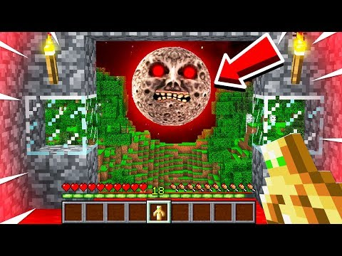 I SURVIVED The LUNAR MOON In My WORLD!