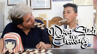Wafer Stick challenge with Lloyd Cadena and Jericho
