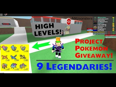 roblox project pokemon how to get legendary dogs