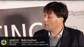 Industry of Things World 2015 Interview - Niels Haverkorn, Volvo Construction Equipment