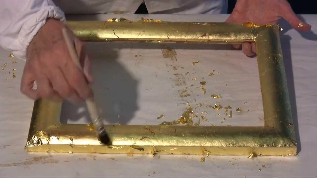 Corso Di Doratura 4 Foglia Oro Zecchino E Argento Vero Youtube