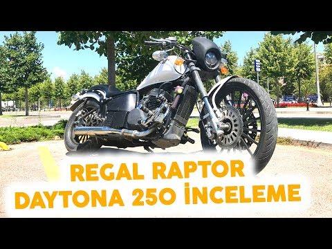 Regal Raptor Daytona 250 İnceleme