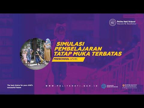 Simulasi Pembelajaran Tatap Muka Terbatas (PTMT) Preschool Level - Pelita Hati School