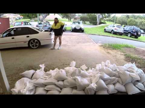 Cleveland SES sand bag distribution