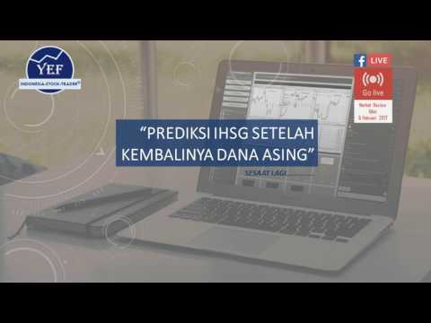 Live Streaming YEFTRADER- Prediksi IHSG Setelah Kembalinya Dana Asing