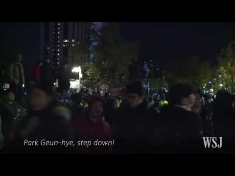 ◀HOT POTATOES▶ (월스트리트저널 촛불집회 긴급뉴스 외신) Wall Street Journal South Korean President's Influence Scandal