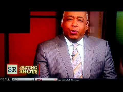 John Saunders' defense of Roy Williams on ESPN's The Sports Reporters