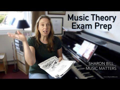 Music Theory Exam Preparation (ABRSM Grades 1 - 5) - Music Matters Sharon Bill Vlog