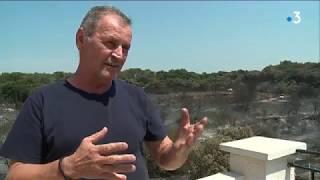 Incendies dans le Gard : les  habitants évacués témoignent