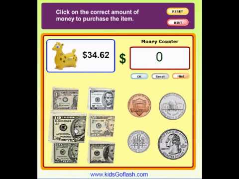Printables Money Games For Preschool preschool game for kids go shopping count the money in us dollars