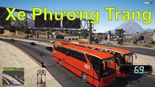 GTA 5 - Xe Phương Trang chạy Tour du lịch chở công nhân về quê | ND Gaming
