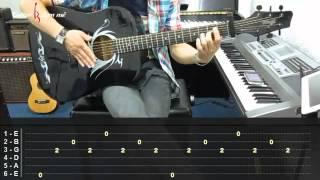 Dạy Học Guitar] [Đệm Hát] [Điệu Rock]  Crazy   Simple Plan