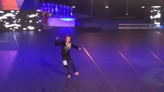 Disco SM 2015 Christoffer Ljungdahl 3:e plats