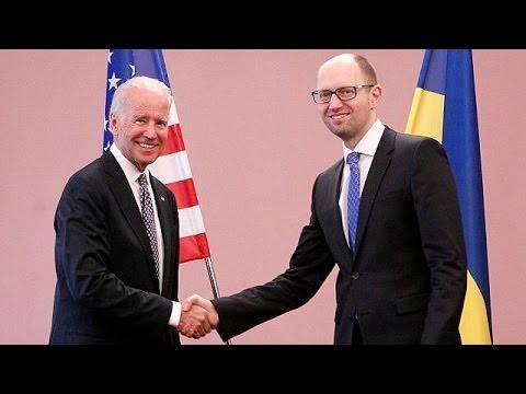 "Joe Biden à Kiev : ""L'Ukraine doit rester unie"""
