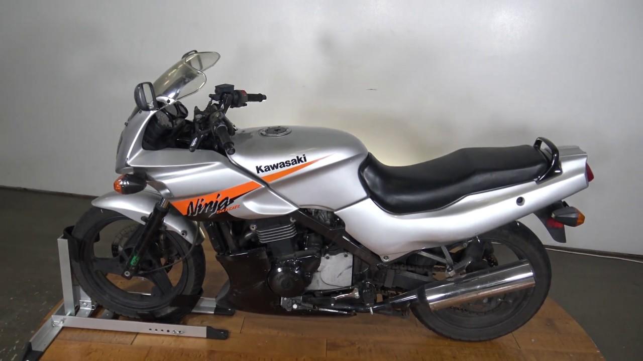 2004 Kawasaki Ninja 500 on