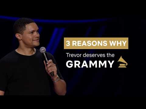 3 Reasons Why Trevor Deserves The Grammy | Son Of Patricia | Netflix South Africa