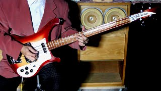 Beatles Bass Cover.  Rain.  /  Rickenbacker 4001 V63 2001