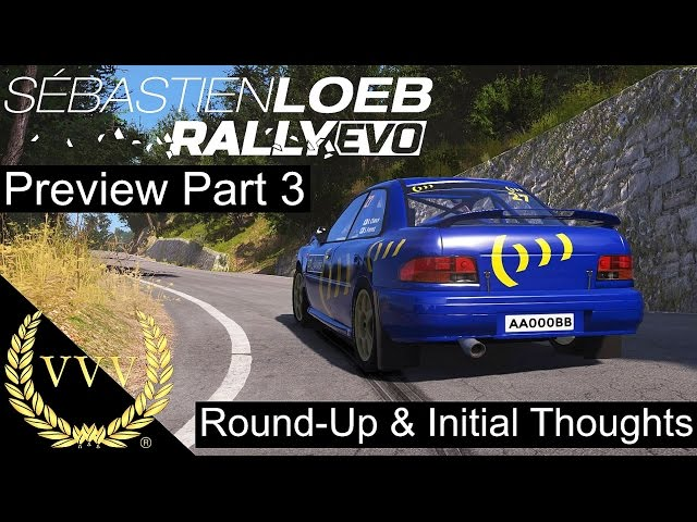 Sebastien Loeb Rally Evo Preview Part 3