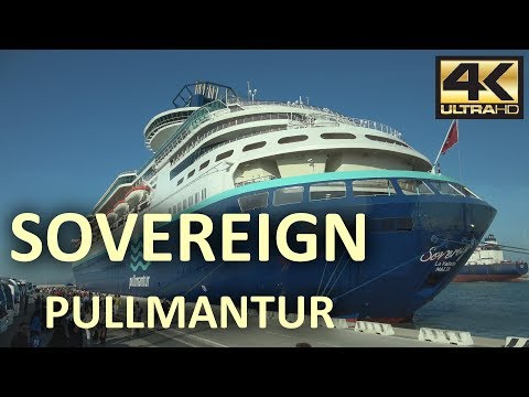 CRUCERO SOVEREIGN - PULLMANTUR [4K]