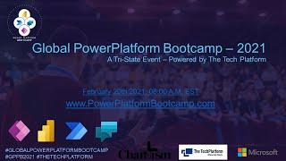 Global PowerPlatform Bootcamp – Track 3