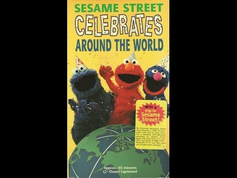Opening To Sesame Street Celebrates Around The World 1994 VHS