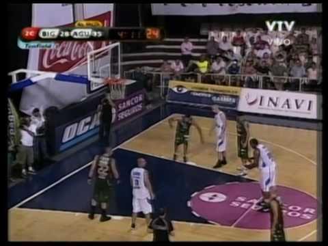 Michael Sweetney, 2nd Qtr (pt1) - (Atletico Biguá) - 02-17-11