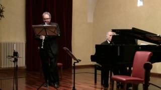 Felix Mendelssohn - Clarinet Sonata, 1. Adagio - Allegro Moderato | Travaglini | Canino |