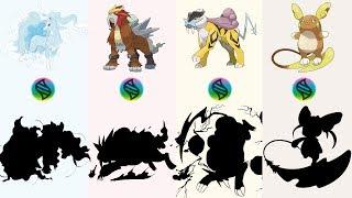 Fan Requests #20: Mega Entei, Mega Raikou, Mega Alolan Raichu, Mega Alolan Ninetales