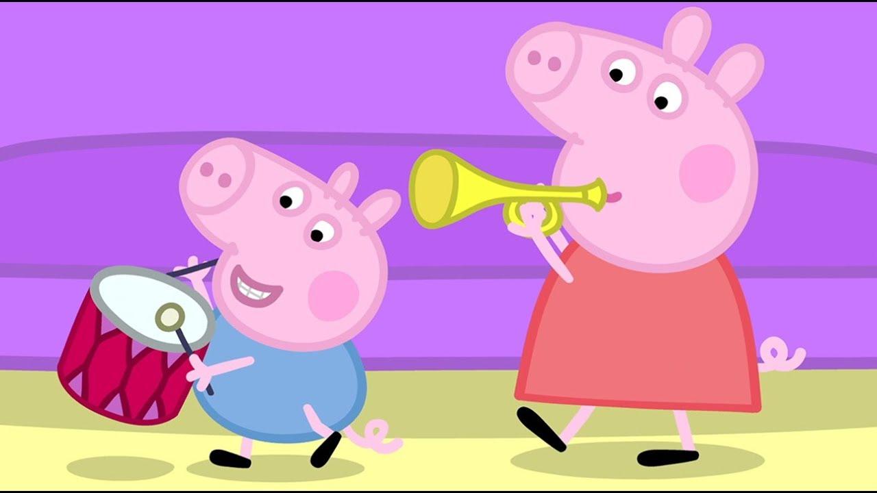 Peppa pig fran ais instruments de musique dessin anim pour enfant youtube - Dessin anime de peppa cochon ...