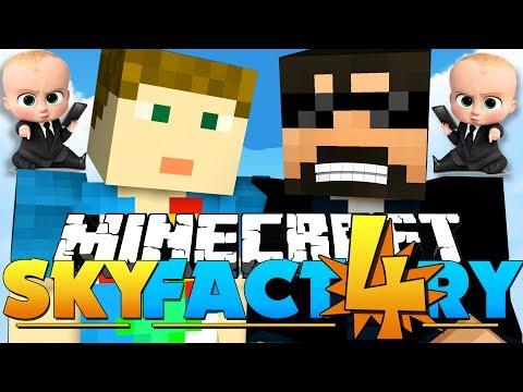 Minecraft: SkyFactory 4 - HARDEST BOSS IN MINECRAFT?! [22]