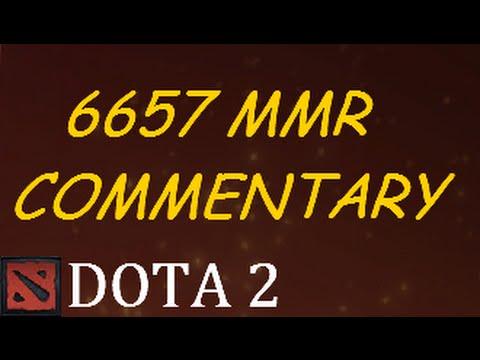 Dota 2 6657 MMR Game Commentary