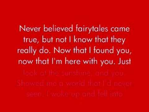 Once Upon a Broken Heart - The Beu Sisters *Lyrics*
