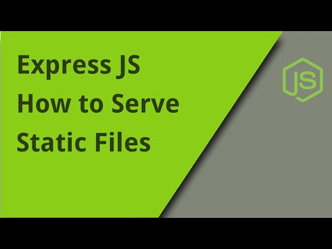 Express JS - Serving Static Files