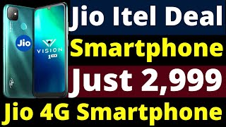 Jio 4G Smartphone At Rs2999 Only | Jio iTel Partnership | Jio iTel 4G Smartphone Launch in India