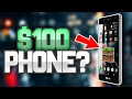 CAN YOU PLAY MINECRAFT ON A $100 PHONE?