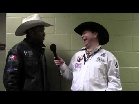 PRCA Pick Up Man Jeff Rector Chats With Jason Hetland On The Rodeo Round Up
