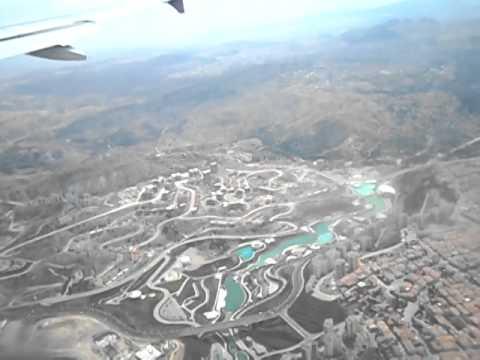 A Rough Landing at Ankara Airport (Turkey)