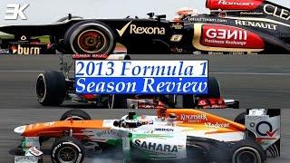 2013 Formula 1 Season Review: Lotus, McLaren and Force India